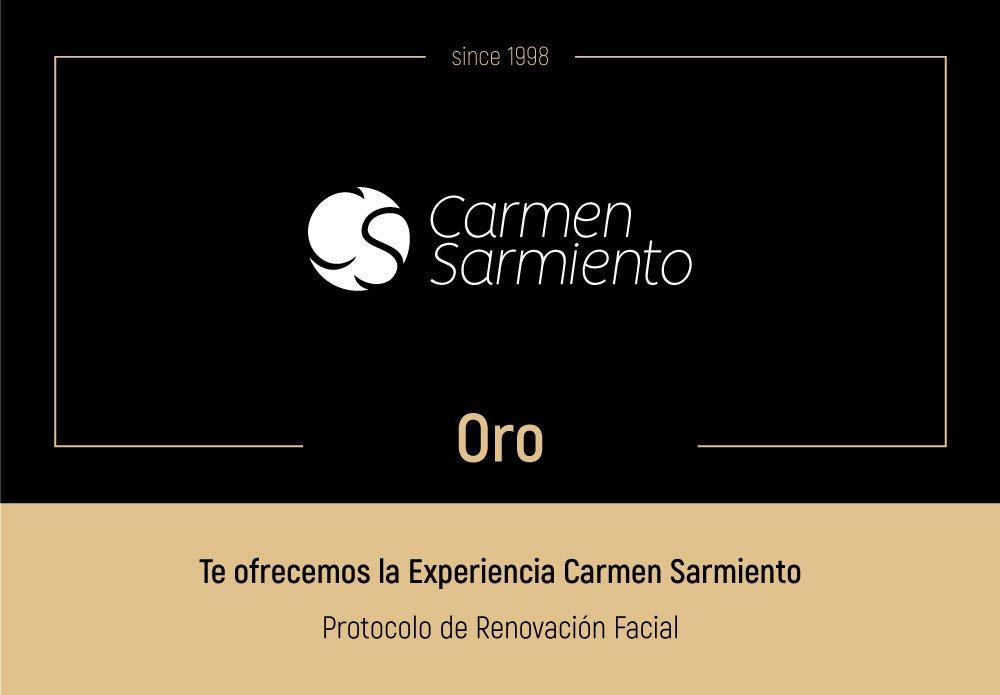 Tarjeta regalo Oro tienda online de Carmen Sarmiento en Sevilla. Centro de Medicina Estética Facial y Corporal. Primer Centro Oficial Coolsculpting.