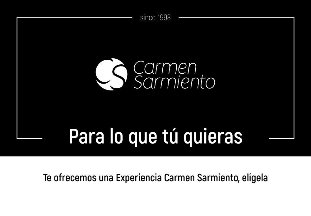 Tarjeta regalo Para lo que tu quieras de Carmen Sarmiento en Sevilla. Centro de Medicina Estética Facial y Corporal. Primer Centro Oficial Coolsculpting.