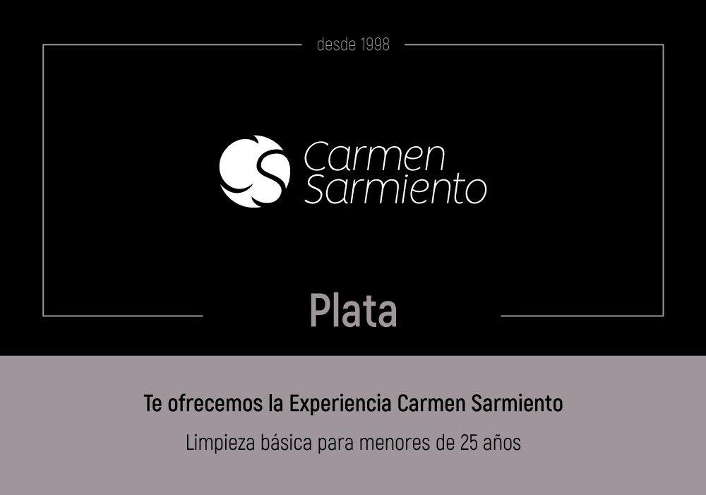 Tarjeta regalo Plata tienda online de Carmen Sarmiento en Sevilla. Centro de Medicina Estética Facial y Corporal. Primer Centro Oficial Coolsculpting.