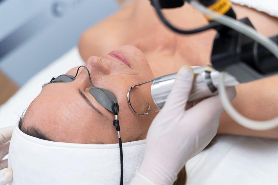 Tratamientos faciales anti-arrugas