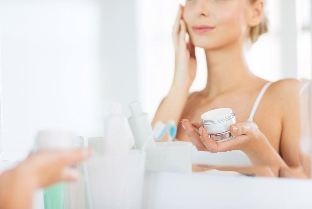 Cuidado de la piel prematuramente envejecida