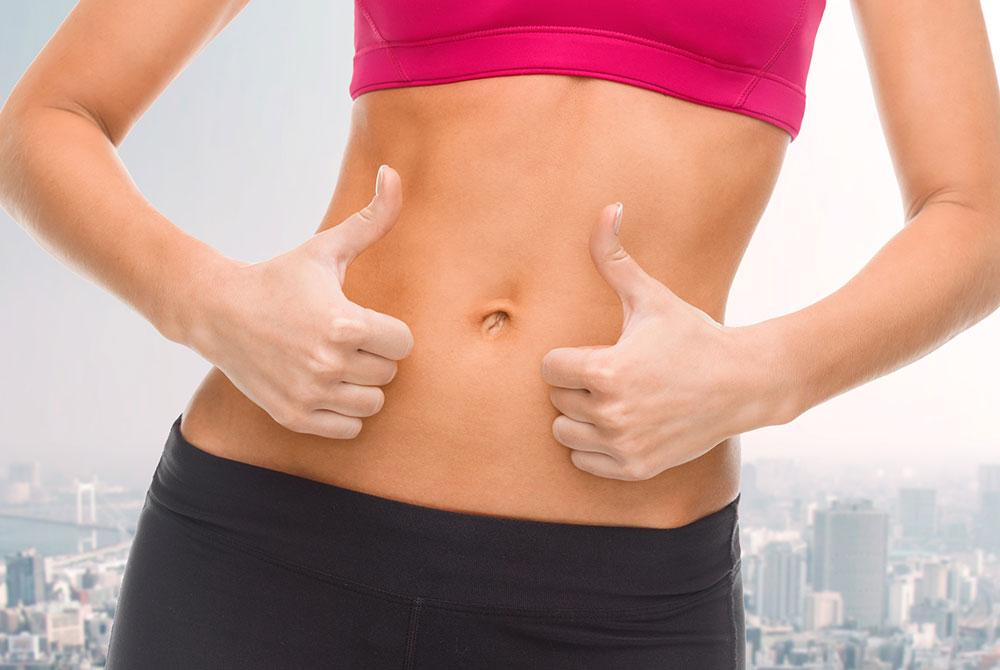 Reducir abdomen sin cirugía