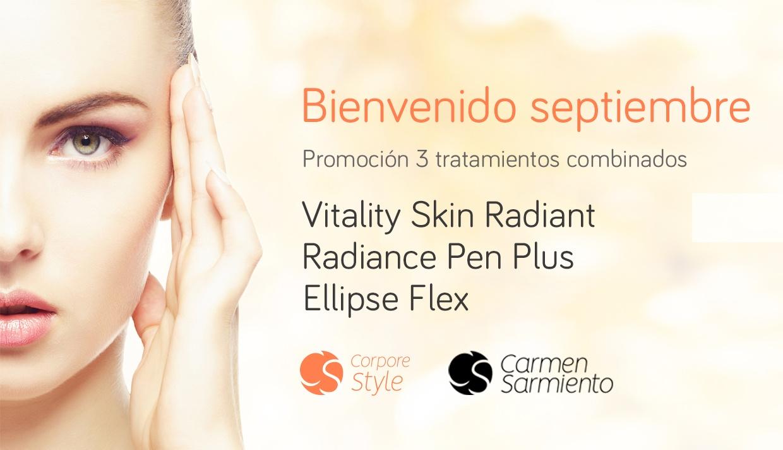 Promoción especial bienvenido septiembre